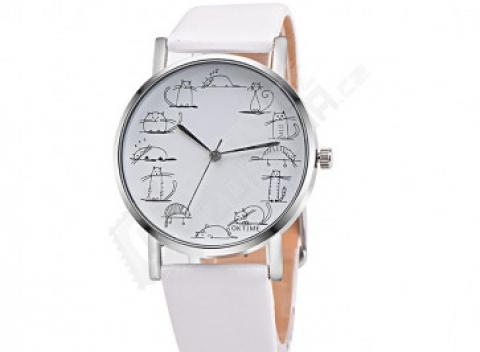 9680d5dade0 Dámské hodinky s kreslenými kočičkami