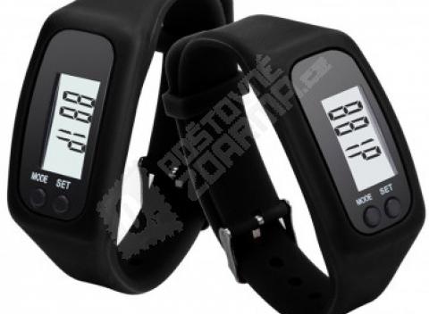 c1cb15db3e6 Silikónové hodinky s krokomerom a meračom kalórií. Na výber máte osem  farieb.