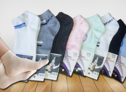 Mix 9-tich párov dámskych či pánskych ponožiek. Majte pohodlie počas celého  dňa. Slovensko Oblečenie e3ab735df37