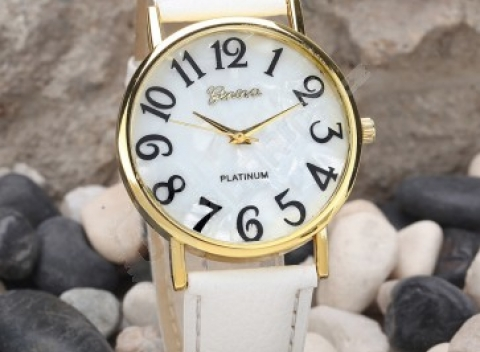 Dámske retro hodinky s veľkými číslicami - 2 farby 395c328c95f