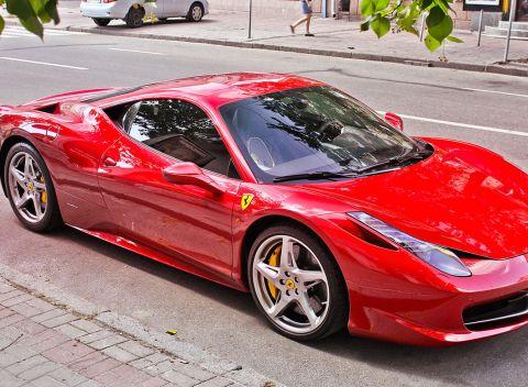 5a9662a0d Adrenalínová jazda na športovom aute Ferrari 458 Italia s možnosťou  šoférovania.