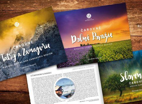 cc85144448ee Unikátna edícia kníh Čarovné Slovensko s najkrajšími fotografiami našich  krajov.