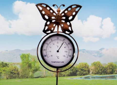 52069e739 Nenechajte si ujsť originálnu a praktickú záhradnú dekoráciu s teplomerom!
