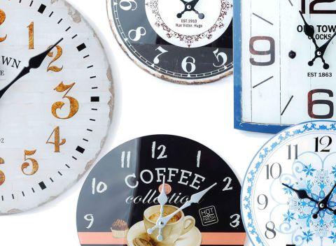 Štýlové nástenné hodiny - doplnok 0c8b57b0f89
