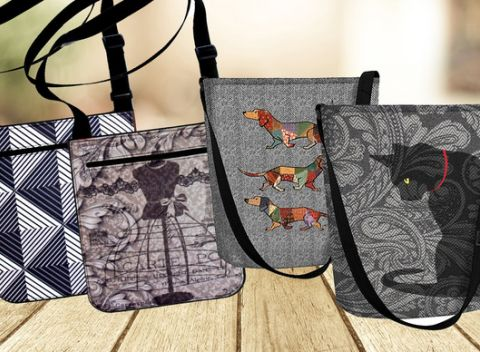 Dizajnové ekologické kabelky vyrobené z PET fliaš 8fe0b254fcf