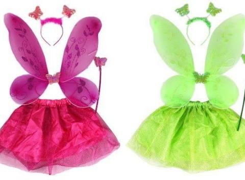 Detský rozprávkový kostým vo fialovej alebo zelenej farbe. Slovensko  Oblečenie 267ae651fa3