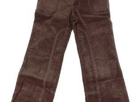 Dievčenské menčestrové nohavice s veľkými vreckami de92577a051