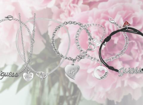 4e567b6ec Atraktívne šperky svetoznámej módnej značky Guess - na výber z viacerých  druhov.