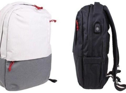 a2c818dcb02b taška. 80. Kvalitný batoh s USB káblom pre pohodlné nabíjanie. Na výber v  čiernej čišedej farbe.