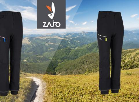 bade5ee80736 Detské turistické nohavice ZAJO z elastického materiálu Outdare. Slovensko  Oblečenie