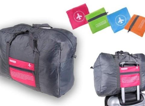 f435a9f8cdd2f Skladacia cestovná taška Happy Flight 32l, ideálna ako príručnú batožinu.