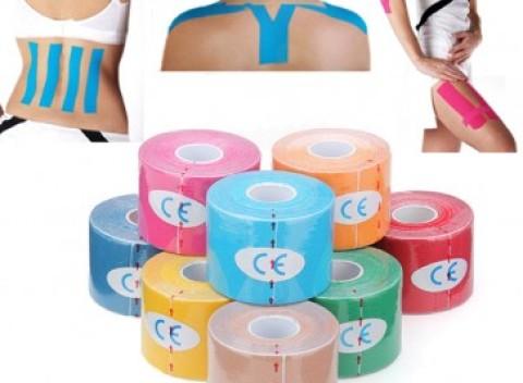 2bfa5373b Tape páska v deviatich farebných variantách. Vhodná na fixáciu pri  športových aktivitách.