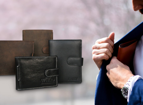 f267b1e821 Tiger na financie vo vašom vrecku! Kvalitné pánske peňaženky WILD a LOREN.  Slovensko Doplnky