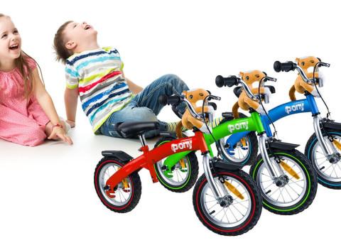 a4973ba622ce Fantastické odrážadlo a bicykel PONY 6v1 s vodiacou rúčkou pre rodiča