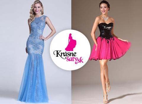 Krásne spoločenské šaty Vyberte si z rôznych druhov 5f39b1ec7c6