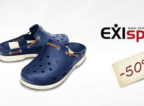 998fb803fba3 50 % zľava na obuv značka Crocs. Každý deň v týždni môžu vaše nôžky zdobiť