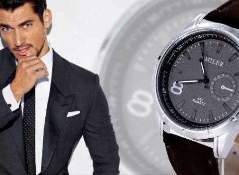 Luxusné pánske hodinky Miler 0aee614e36f
