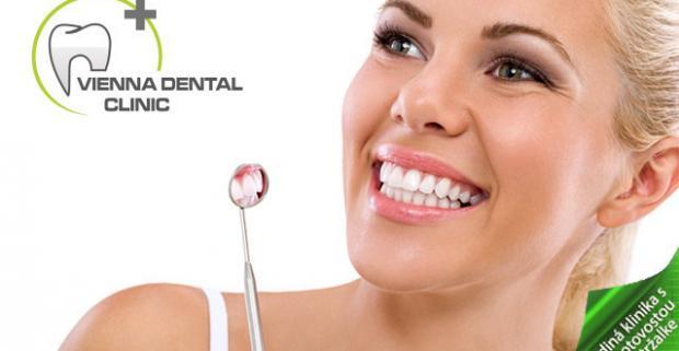 Krásny úsmev je univerzálnym kľúčom od sŕdc ľudí. Dentálna hygiena vo Vienna Dental Clinic so vstupnou prehliadkou.