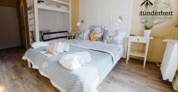 Užite si čarovnú dovolenku v Maďarsku pri Egeri v Tündérkert Hotel Noszvaj s polpenziou a vstupom do kúpeľov a deti do 10 rokov zdarma.