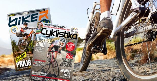 Ročné predplatné časopisov Biker a Cyklistika s cyklomapami. 11 unikátnych časopisov zameraných na horskú a cestnú cyklistiku.
