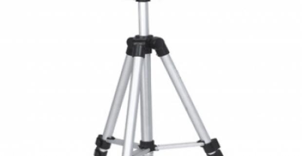 Fotografický tripod stojan - statív. Luxusný tripod s veľmi stabilnou alumíniovou konštrukciou a masívnymi teleskopickými nohami.