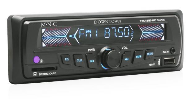 Fantastické M.N.C MP3 autorádio v modernom dizajne s SD/MMC/USB/AUX portom. Počúvajte vašu obľúbenú hudbu vo vysokej kvalite.