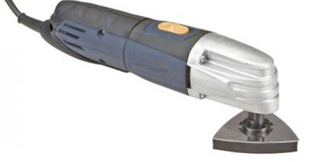 Moderné a spoľahlivé multifunkčné náradie 230 W na brúsenie. Skvelý pomocník pre profesionálov či pre domácich majstrov.