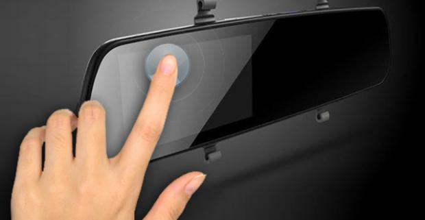 Spätné zrkadlo s HD kamerou a displejom do auta. Každý vodič by mal mať úplný prehľad o tom, čo sa deje na ceste pred ním, za ním či vedľa.