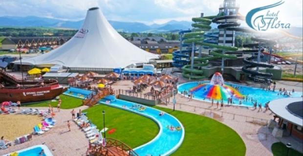 Užite si pohodovú dovolenku v hoteli Flóra v Bešeňovej. Pobyt s chutnou polpenziou a vstupom do termálneho aquaparku GINO Paradise.