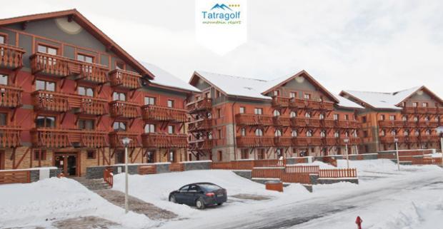 Dovolenka v zasnežených Tatrách! Ubytovanie v apartmánovom komplexe Tatragolf Mountain Resort**** s množstvom zliav.