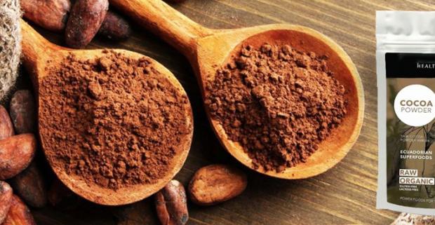 RAW - surový kakaový prášok 250g z najcennejších kávových bôbov Arriba, ktoré sa pestujú iba v Ekvádore s chuťou tropického ovocia.