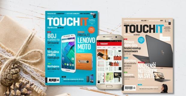 Prekvapte vášho partnera a kúpte mu ročné predplatné fantastického časopisu o najnovších technológiách TOUCHIT.
