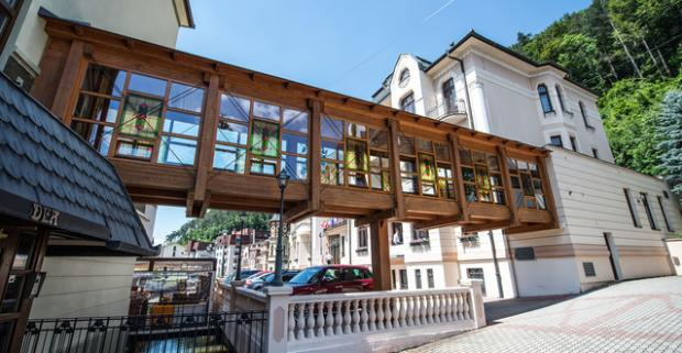 Doprajte si jedinečný kulinársky zážitok a oddych v Trenčianskych Tepliciach. 4-chodové menu v hoteli Most Slávy *** so vstupom do wellness.