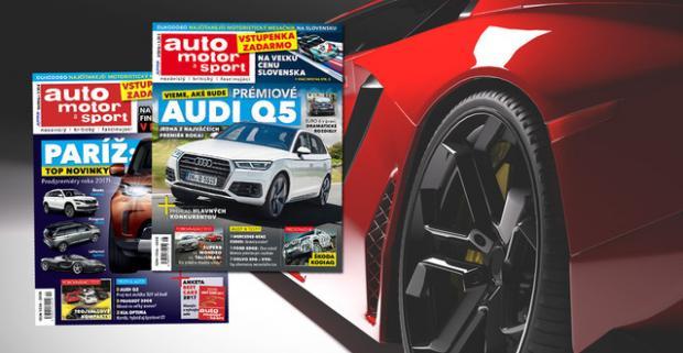 Ponorte sa do sveta áut a motorov. Predplatné na jedinečných 12 či 6 vydaní časopisu Auto motor a šport, plného zaujímavostí a noviniek.