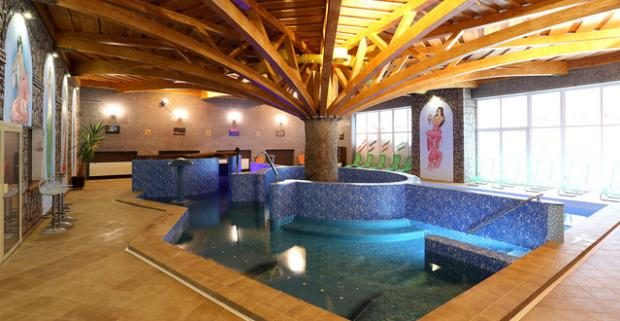 Vychutnajte si dokonalý relax. 4-hodinový vstup do Hradného wellness pre 2 osoby s občerstvením v obľúbenom penzióne Predná hora.