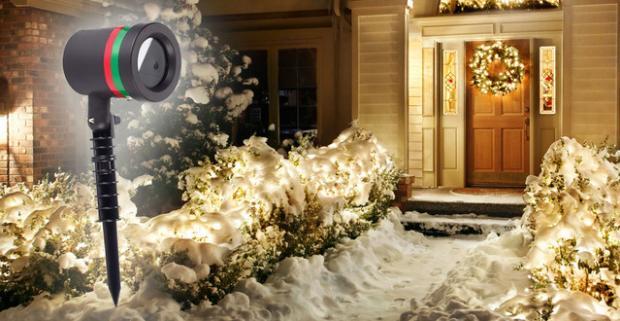 Tento rok už žiadne nehody. Laserová lampa rozžiari váš domov tisíckami svetielok, ktoré ako hviezdy posejú váš dom či byt.