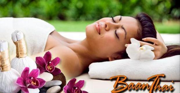 Doprajte si exkluzívnu thajskú olejovú masáž s levanduľovým olejom, peelingom a starostlivosťou o vaše nohy v luxusnom salóne BAANTHAI.