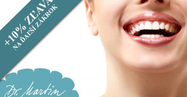 Všetko pre váš zdravý a krásny úsmev. Dentálna hygiena pre 1 či 2 osoby, ročná starostlivosť, poradenstvo a darček - medzizubná kefka.