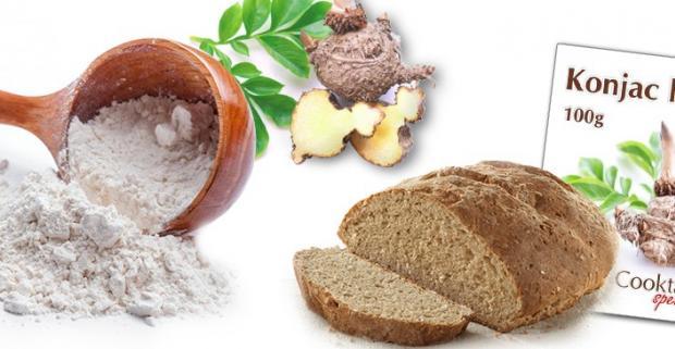 Nahraďte v kuchyni tradičnú múku za zdravšiu alternatívu v podobe konjacovej múky a potlačte hlad zdravou cestou!