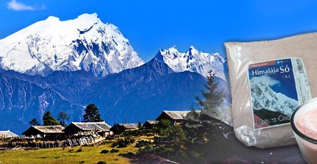 Nerafinovaná himalájska soľ. Nahraďte obyčajnú kuchynskú soľ Himalájskou soľou, za ktorú sa vám vaše telo odvďačí zdravými cievami a kĺbmi!