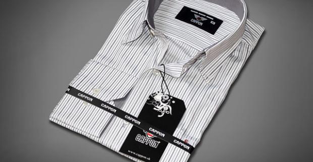 640dd91d2e1a Elegantné pánske košele Kvalita a luxus od značky CAPPON. CAPPON s.r.o.. 0    5. 49