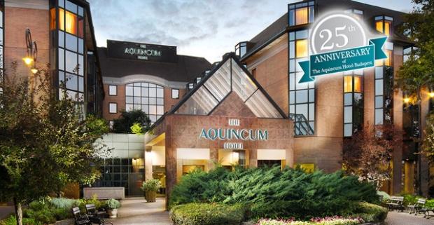 Nutne potrebujete relax? Vyskúšajte hotel Aquincum***** v lukratívnej časti Budapešti, kde vás čaká neobmedzený wellness a bohaté raňajky.