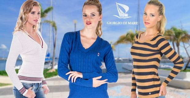 4969428b46ad Značkové dámske svetre Giorgio Di Mare - v štýle talianskeho luxusu a  elegancie.