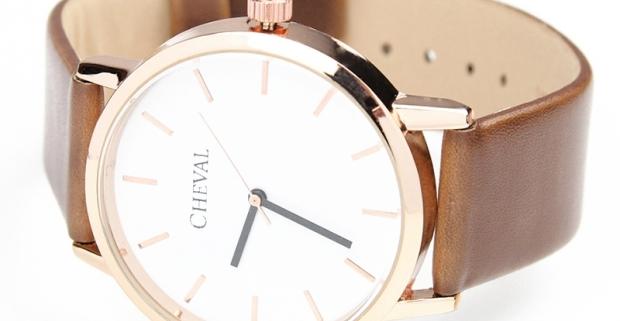 b9dbeb466 Dámske hodinky značky Cheval krásneho klasického dizajnu s ...