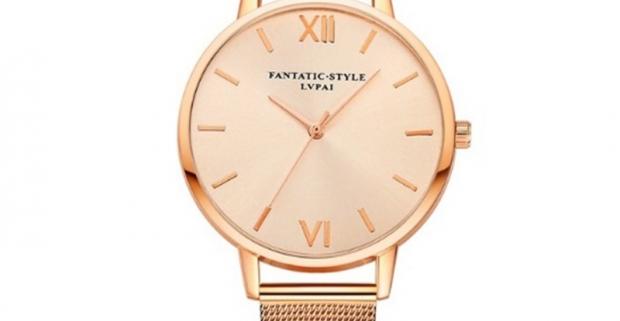 79ed5056d Elegantné dámske hodinky značky LVPAI s kovovým remienkom…   Odpadneš.sk