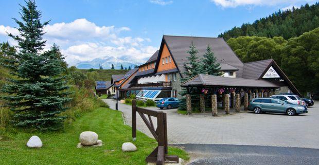 73691611ed62e Letná dovolenka s neobmedzeným wellness a polpenziou v tatranskom hoteli  Sipox***.