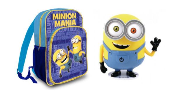 a389355086 Školská taška s motívom Mimoni. Batoh je ideálny…