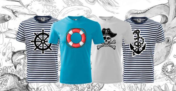 9909c82c5 Vodácke dobrodružstvá s novým tričkom s potlačou. Na výber z viacerých  motívov.