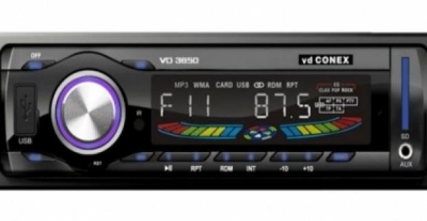Dizajnové soundrace MP3 autorádio. Digitálne rádio s USB a s diaľkovým ovládaním. Počúvajte svoju obľúbenú hudbu aj počas šoférovania.