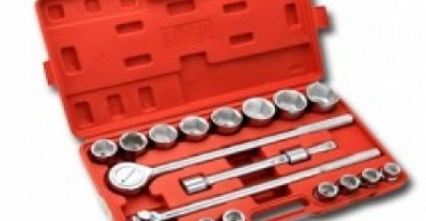 Skvelá sada Gola kľúčov z chrómovanej ocele. Balenie obsahuje 21 kusov náradia, ktoré potešia všetkých majstrov.